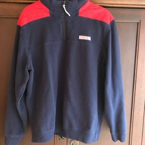 Vineyard Vines Shep navy pullover